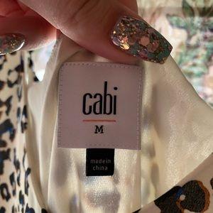 CAbi medium leopard dress multicolored